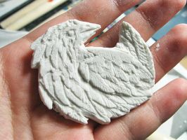 Bas-Relief Bird by denn