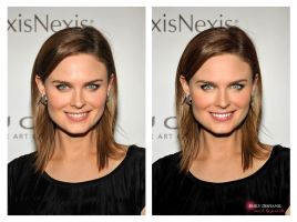 Emily Deschanel by Graziola