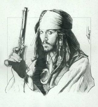 Pirates_Jack sketch by TrevorGrove