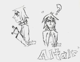 Altair Sketches by explodingmuffins