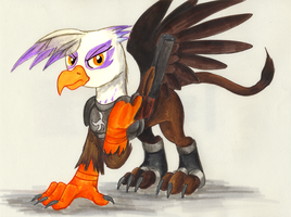 Comission - Talon Merc Gilda by jamescorck
