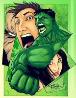 The Incredible Hulk by Lazaer