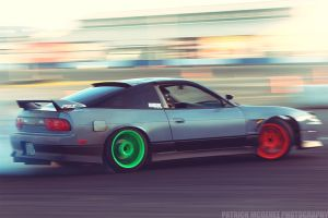 240sx Hatchback Drifting by projektPM