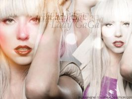 Lady GaGa Wallpaper by Stephue