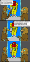 Metroid: Bird Magic by doodlegarmander
