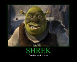 Shrek Demotivational by DisturbedGrave