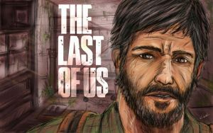 The Last Of Us - Joel by geckobot83
