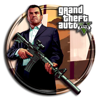 Grand Theft Auto V Icon by Troublem4ker