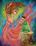 Princess and Frog by christinekerrick