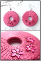 Pinkish Flowers by KsenyaDesign