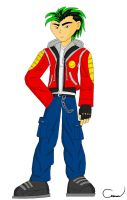 Jake Long Reboot DH ITE Style by Vakama3