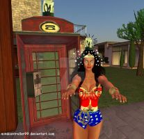 Wonder Woman: Phoney Boothed by The-Mind-Controller