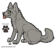 CLOSED-Another wolf adoptable by Zari-Adoptables