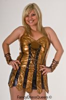 Xena Costume Cosplay by fancydressqueen