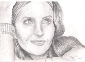 Courtney Cox by Super-Midget