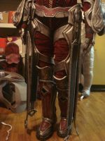 Myrrah Gears of War WIP, completed suit test fit by cimmerianwillow