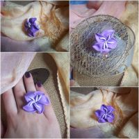 Purple Lily Ring by ChrisOnly