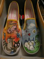 Pokemon shoes by ineffablecreations