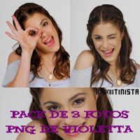 Pack png de Violetta by Kamiitinista