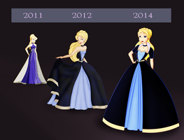 Stardress evolution by SummersWorld