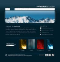 Proficient Studios Website v3 by zblowfish