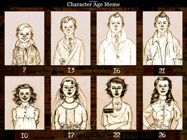 Age Meme - Tintin and Milla by XtreamCrazy