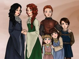 Stark Children - Genderbent by lamch0pz