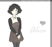 alice....again: colored by vanipy05