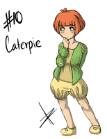 #10 Caterpie by banANNU