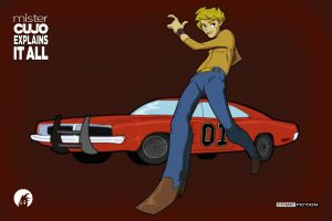 Bo and the General Lee Anime mister CUJO Preview by ComicFiction