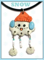 SNOW-Necklace by chat-noir