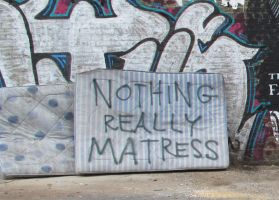nothing matress still by FilthyLuker