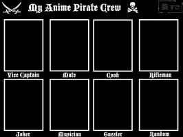 Anime Pirate Crew by Oukami-SuGo