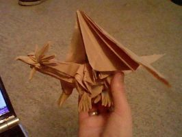 Ancient Dragon --Kraft paper-- by Takato14