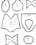 Patterns For Sailor Fuku by AshFantastic