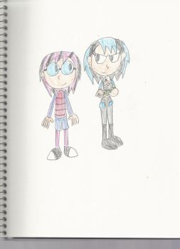 AT: The Two Goths by mastergamer20