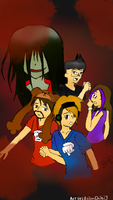 PewDiePie Corpse Party fanart by Neko-nekochan23