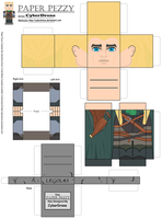 Paper Pezzy- Legolas by CyberDrone