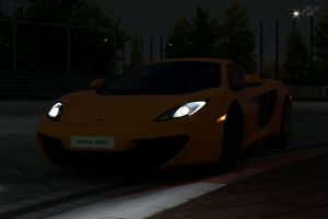 mclaren mp4 12c 5 by JoshuaCordova