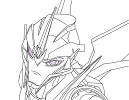 Starscream tf prime by newtmitchell on deviantart for Starscream coloring page
