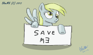 Save Derpy by BlueMK
