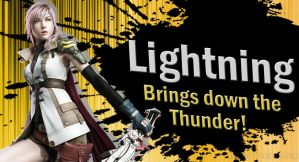 Lightning SSB4 Request by Elemental-Aura