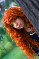Merida's hiding by DahliaFortescue