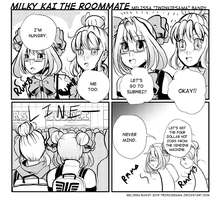 Milky Kai the Roommate 15 by Twinkiesama