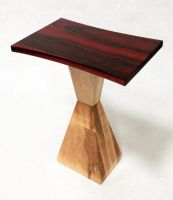 Cadmium Red End Table by ImrikDragon