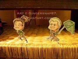HidaShika Chase Paperchildren Gift by Gingersnap87