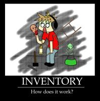 INVENTORY: How does it work? by AzizrianDaoXrak