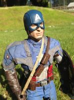 Captain America Hot Toys Cpllectible Figure by TohruIchi