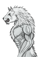 Elder Werewolf Lycaon by Arrancarfighter