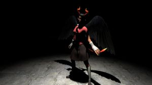 Devil in the Dark by Mitziwho